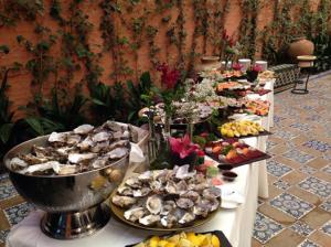 Catering Barros casa Guardiola